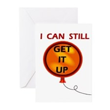STILL GET IT UP Greeting Cards (Pk of 10)