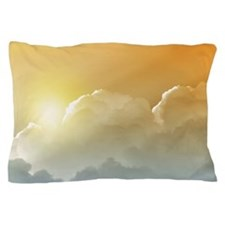 Sunset in the Clouds Pillow Case