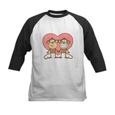 Monkey Love Couple Tee