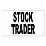 Stock Trader Rectangle Sticker