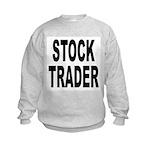 Stock Trader Kids Sweatshirt