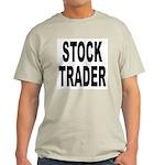 Stock Trader Ash Grey T-Shirt