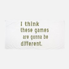 Think Games Different Beach Towel