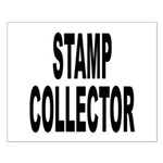 Stamp Collector Small Poster