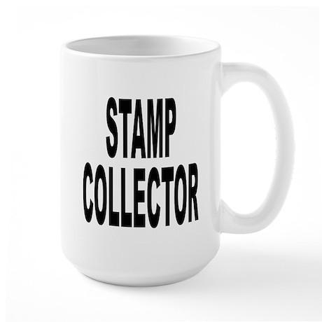 Stamp Collector Large Mug