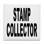 Stamp Collector Tile Coaster