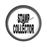 Stamp Collector Wall Clock