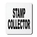 Stamp Collector Mousepad