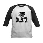 Stamp Collector Kids Baseball Jersey