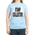 Stamp Collector (Front) Women's Pink T-Shirt