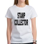 Stamp Collector (Front) Women's T-Shirt