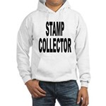 Stamp Collector (Front) Hooded Sweatshirt