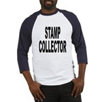 Stamp Collector (Front) Baseball Jersey