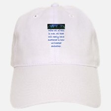 HOW WE TREAT EACH OTHER (SKYLINE) Baseball Baseball Cap