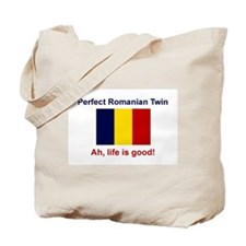 Romanian Twin-Perfect Tote Bag
