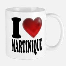 I Heart Martinique Mugs