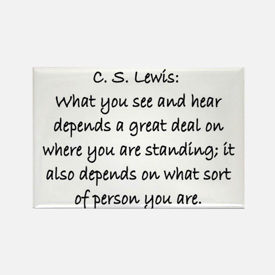 C.S. LEWIS QUOTE Rectangle Magnet (10 pack)