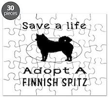 Adopt A Finnish Spitz Dog Puzzle