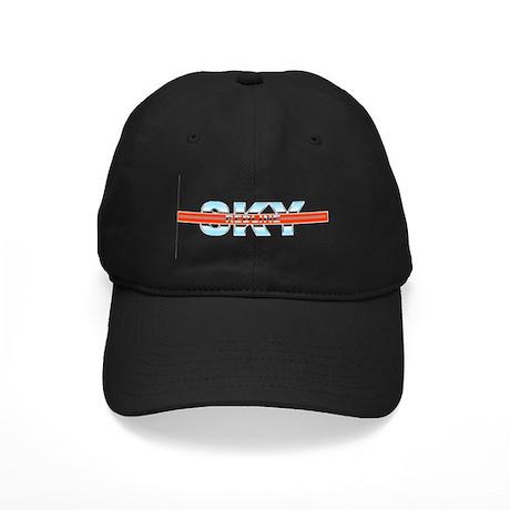 "Sky Redline ""Chrome"" Black Cap"
