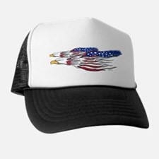 US Flag: American Eagles Trucker Hat