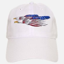 US Flag: American Eagles Baseball Baseball Cap
