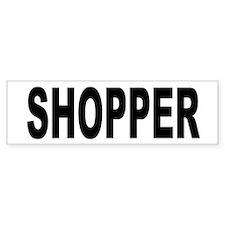 Shopper Bumper Bumper Sticker