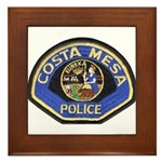 Costa Mesa Police Framed Tile
