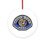 Costa Mesa Police Ornament (Round)