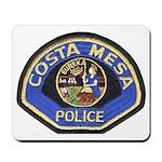 Costa Mesa Police Mousepad