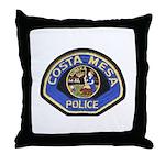 Costa Mesa Police Throw Pillow