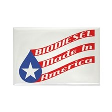 Biodiesel Flag Rectangle Magnet