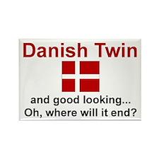 Danish Twin-Good Looking Rectangle Magnet