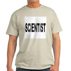 Scientist Ash Grey T-Shirt
