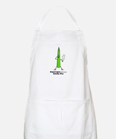 Asparagus gives you Stinky Pe BBQ Apron