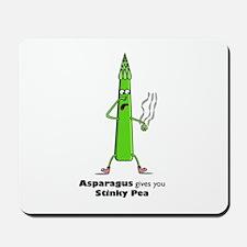 Asparagus gives you Stinky Pe Mousepad
