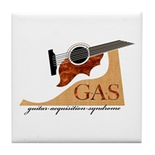 G.A.S. Acoustic Guitar Tile Coaster