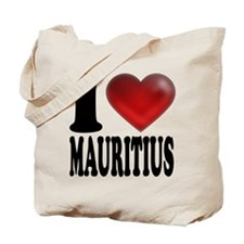 I Heart Mauritius Tote Bag