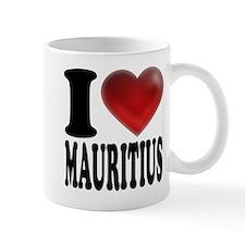 I Heart Mauritius Mugs