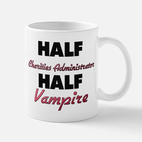 Half Charities Administrator Half Vampire Mugs