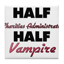 Half Charities Administrator Half Vampire Tile Coa