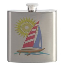 Sun and Sails Flask