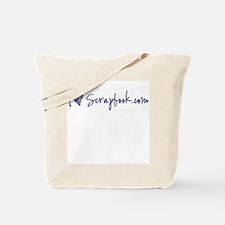 """""""i heart scrapbook.com"""" Tote Bag"""