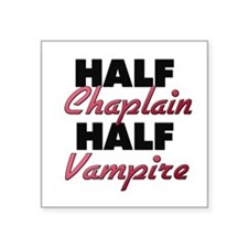 Half Chaplain Half Vampire Sticker