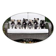 Keesridge Pups in a Row Decal