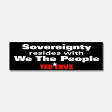 Sovereignty Resides - Ted Cruz Quote Car Magnet 10