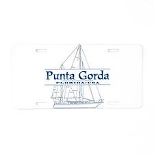 Punta Gorda - Aluminum License Plate