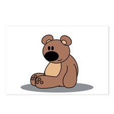 cuddly bear Postcards (Package of 8)