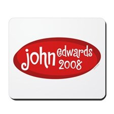 John Edwards 2008 Retro Mousepad