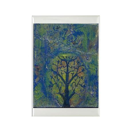 Tree of Life II Rectangle Magnet