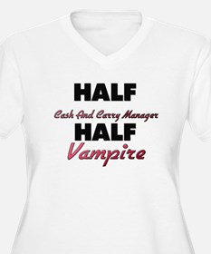 Half Cash And Carry Manager Half Vampire Plus Size